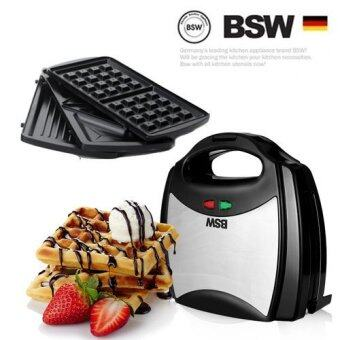 BSW 3in1 Sandwich Maker BS-1407-SM Waffle Bread Maker Home BakingTools Toaster