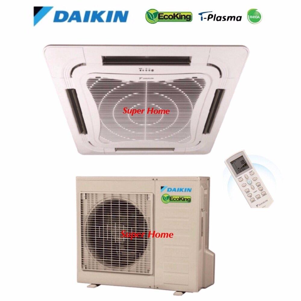 Daikin 2 75hp Eco King Ceiling Cassette Type Air Conditioner Fcn30fv1 Rn28cv1 R410a