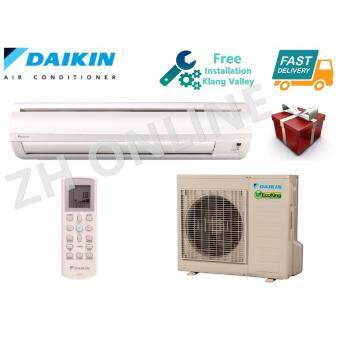 Harga Daikin 3.0HP Air Cond Eco King FTN30P & RN30C @FREE Installation In Klang Valley&Gift