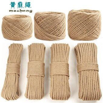 DIY handmade decorative products thick hemp rope