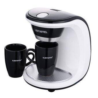 ELBSTAFFEL Coffee Maker BNB-450W 2Cups Gift Coffee machine Coffee pot/ Coffee bean Drip Coffee coffee grinder