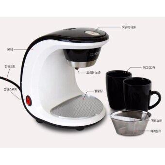 ELBSTAFFEL Coffee Maker BNB-450W 2Cups Gift Coffee machine Coffeepot/ Coffee bean Drip Coffee coffee grinder ? - 2