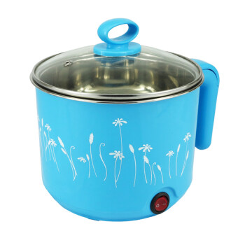 Harga Electric Travelling Steamboat Hot Pot Instant Cooker 1.5L (Blue)