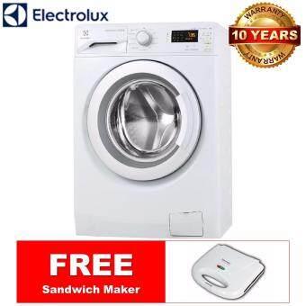 Penyenaraian Harga ELECTROLUX 8KG Inverter Front Load Washing Machine EWF12853 *FREESandwich Maker Menjual harga terbaik