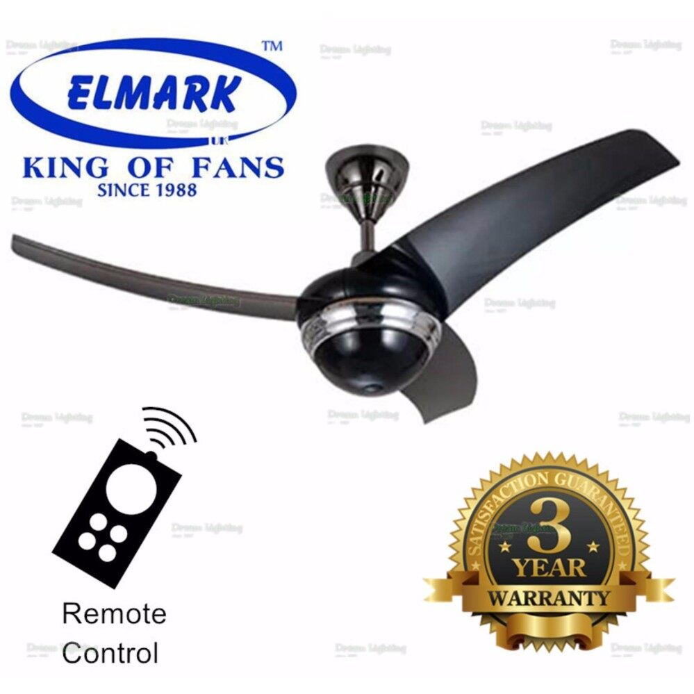 Elmark 42 baby ceiling fan with remote control gmblack malaysia mozeypictures Images