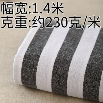 Fabric good big curtain textile first dyed cloth Linen Fabric