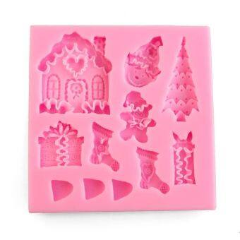 Harga Fang Fang Christmas Snowman Silicone Soap Mold Mould