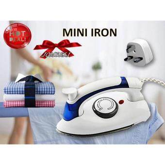 Folding Steam Iron Mini Travel Irons Steam Clothes Steamer PortableSteam Iron for Ironing Clothes Iron Steam Generator