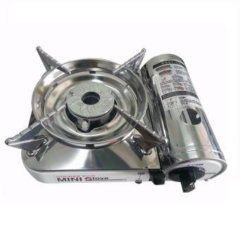 GOLDEN FUJI GF-9000 PORTABLE MINI GAS STOVE (SS)