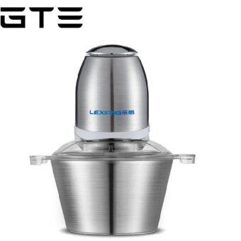 GTE LX-03D LeXiang High-quality 2L Multi-Function Stainless SteelMeat Grinder Electric Meat Mincer