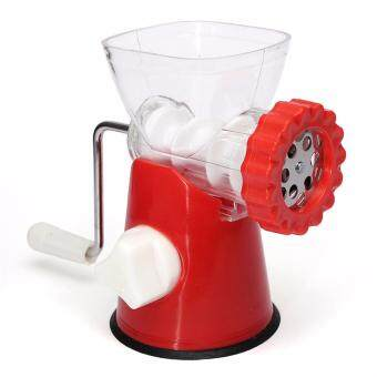 High Quality stainless steel blade Home Kitchen Meat Food Mincer Grinder Chopper Beef Pork Chicken Hand Operated