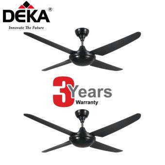 Harga [TWIN PACK] Deka Kronos F5-4P Ceiling Fan With Remote Control (NEW MODEL)