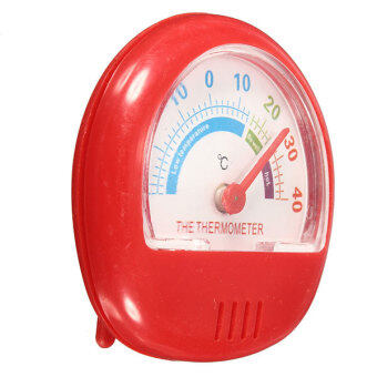 Harga Fridge Thermometer Refrigerator Freezer Indoor Outdoor Home Factory Thermograph Red