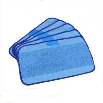 Harga 5pcs Microfiber Mopping Cloths for iRobot Braava 380 380t 320 Mint 4200 4205 5200 5200C Robot