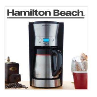 Harga Hamilton Beach 46896 10 Cup Coffee Maker with Vacuum Stainless Thermal Carafe Black