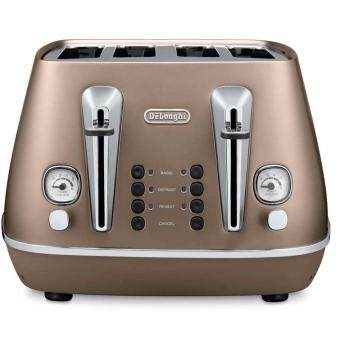 Harga Delonghi CTI4003 Bread Toaster 4 Slices (Bronze)