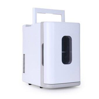 Harga Portable Mini Fridge 10L Refrigerator 12V And 220V Cooler/Warmer Car & House Use