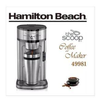 Harga Hamilton Beach 49981 The Scoop Single Serve Coffee Maker Stainless Steel kitchen coffee machine