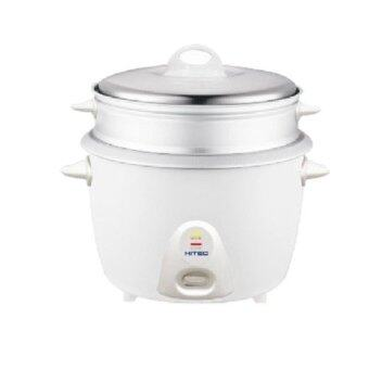 Harga Hitec Rice Cooker 1.0L With Steamer (White)
