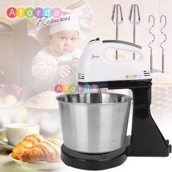Harga Aforda Resources 7 Speed Electric Kitchen Dough Egg Cake Countertop Stand Mixer Utensil With Bowl