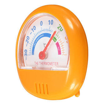 Harga Fridge Thermometer Refrigerator Freezer Indoor Outdoor Home Factory Thermograph Orange