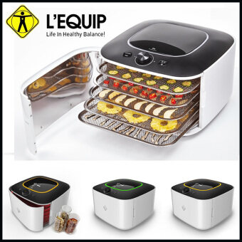 Harga Lequip Korea IR-D5 Dry Food Warmer Dehydrator for Home (White and Black))