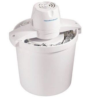 Harga Hamilton Beach 68330N 4-Quart Automatic Ice-Cream Maker,Cream