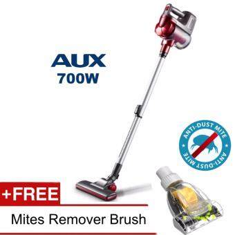 Harga Aux 3-in-1 Dual Cyclone Handheld Vacuum Cleaner 700W + Mites Vacuum Brush