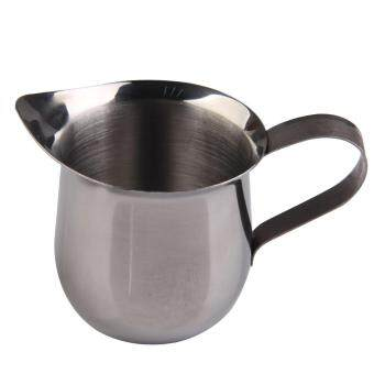 Harga Stainless Steel Coffee Shop Small Milk Cream Waist Shape Cup Jug 3OZ