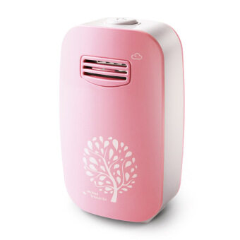 Harga Ionizer Mini Air Purifier - Concentration 12 Million Anion (Pink)