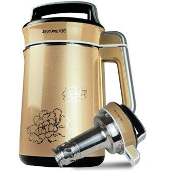 Joyoung DJ13B-C630SG Upgraded Multifunction Automatic Soymilk Makerwith Filter (Champagne Gold)