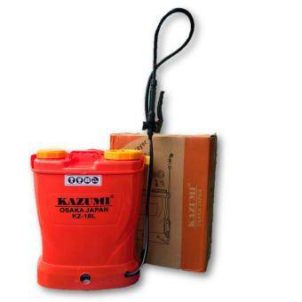 Harga Kazumi 18L Rechargeable Battery Knapsack Sprayer (Made In Japan)