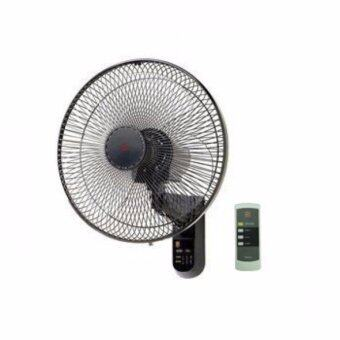 "Harga KDK 16"" Remote Control Wall Fan With Timer KC-4GR (Black)"