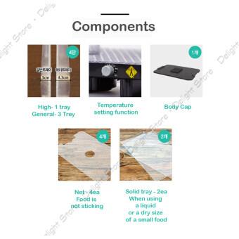 Lequip Korea LD-528CT Dry Food Warmer Dehydrator for Home - 4