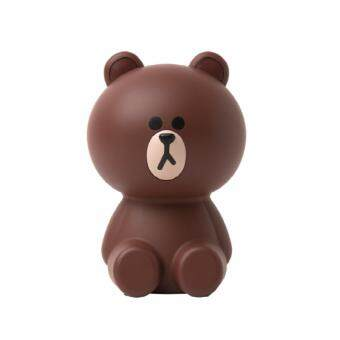 Harga LINE FRIENDS AIR CLEANER MINI_BROWN