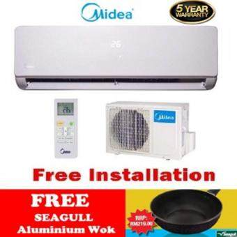MIDEA-MSF-10CRN1 1.0HP Wall Mounted ( Free Memory Pillow ) ( FREEInstallation MIDEA Aircond )