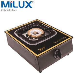 Harga Milux Single Gas Cooker Tempered Glass Cook-top MSG-200M