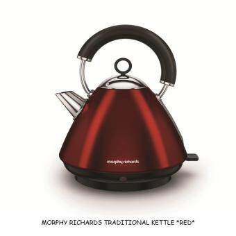 Harga MORPHY RICHARDS TRADITIONAL KETTLE *RED* - 102029