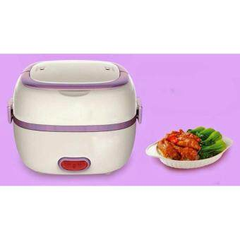 Harga Multi-Function Portable Electric Lunch Box Stainless Steel