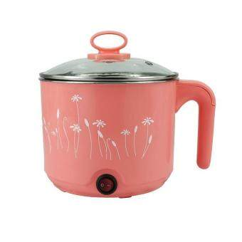 Harga Multifunctional Electric Hot Pot Instant Cooker 1.5L (Pink)