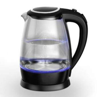 NAVITASS Elegance Glass Electric Kettle with Blue LED