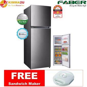 Harga (NEW) FABER ITALY FRIGOR312 330L 2-Door Top Mount Fridge Refrigerator *FREE SANDWICH MAKER
