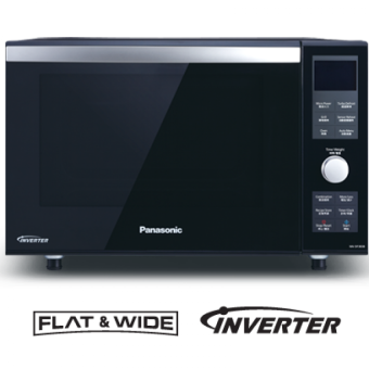 new panasonic inverter double heater grill microwave oven nndf383b - Panasonic Microwave Inverter