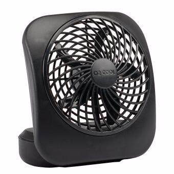 Harga O2COOL 5-Inch Battery Operated Portable Fan, Black