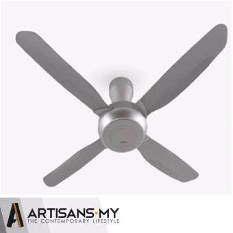 Panasonic Nami 4 4-Blade 1400mm (56 inch) F-M14E2 (Silver Grey) Ceiling Fan with Onsite Warranty by Panasonic Malaysia