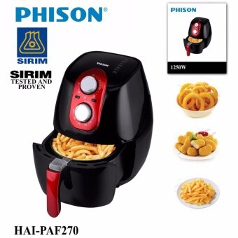 Phison (Malaysia Brand) Premium 2.7Litre Air Fryer ( No Oil Use)