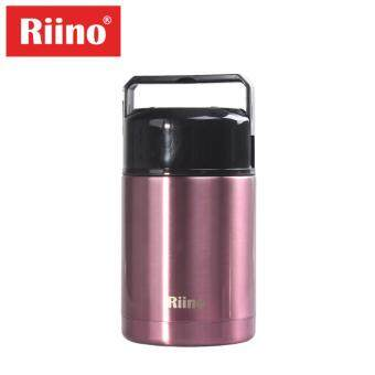 Harga Riino 1000ML Thermal Pot Stainless Steel Portable Cooker Thermo(Red)