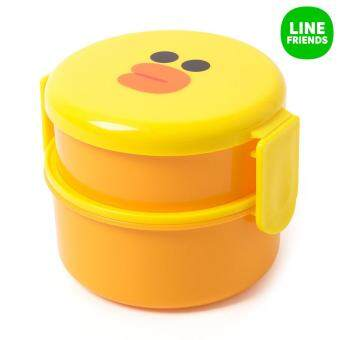 Harga ROUND TWO-FOLD LUNCH BOX_SALLY