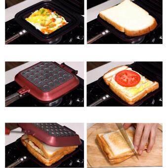 SANTOPAN Sandwich Maker Breakfast Toaster Baker Press Grill KitchenPanini - 4
