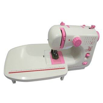 Sewing Machine JYSM-605 with 12 Sewing Options (Pink) WithExpansion Board